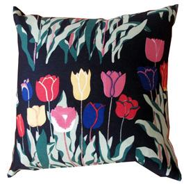 Pillow, Tulips