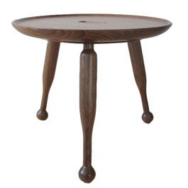Walnut Stool