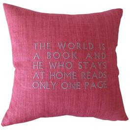 Pillow, The World is a Book ...
